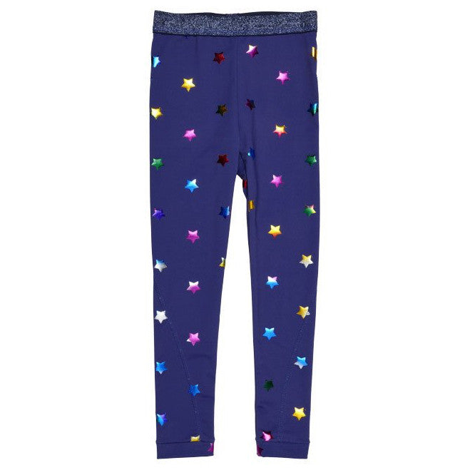 Stella McCartney Girls Shimmering Star Leggings Girls Leggings Stella McCartney Kids [Petit_New_York]