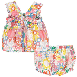 Stella McCartney Baby Girls Floral Summer Set Baby Sets & Suits Stella McCartney Kids [Petit_New_York]