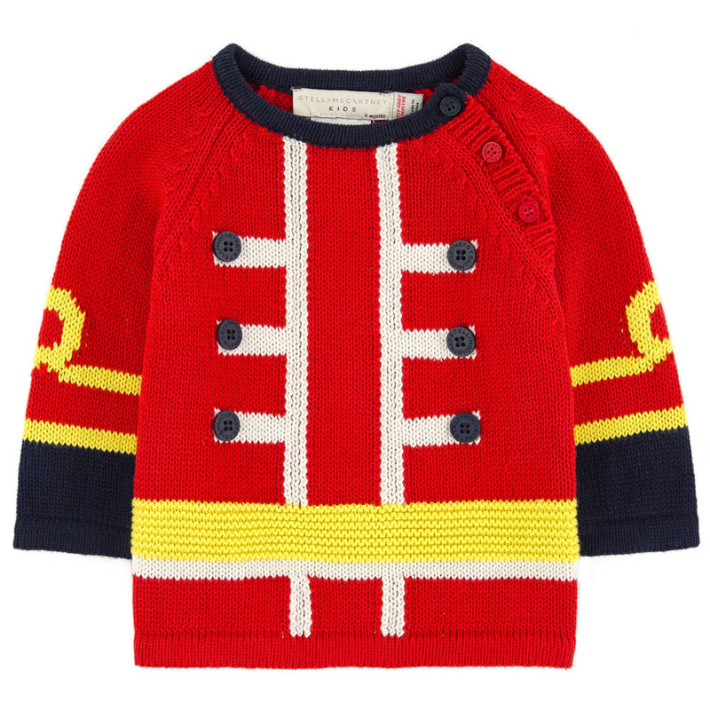 Baby Boys English Guard Sweater