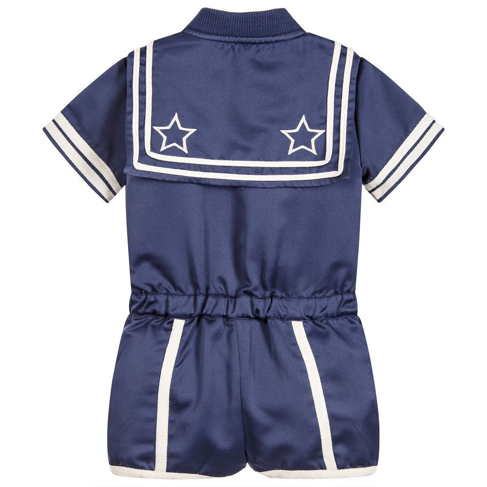 7d15a0cdf6d Stella mccartney girls navy blue majorette romper girls dresses stella  mccartney kids petit new york jpg