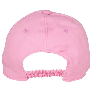 Girls Pink Logo Baseball Cap