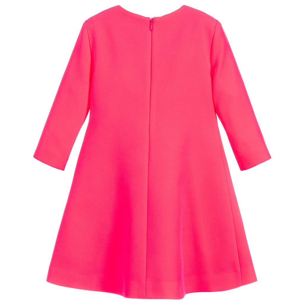 Girls Neon Hot Pink Medusa Dress