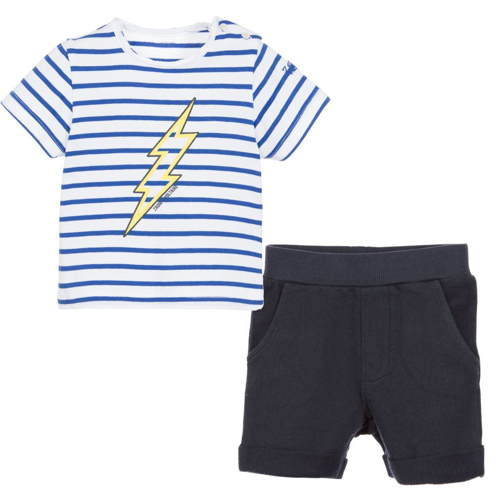 Zadig & Voltaire Baby Boys T-shirt & Shorts Set Baby Sets & Suits Zadig & Voltaire [Petit_New_York]