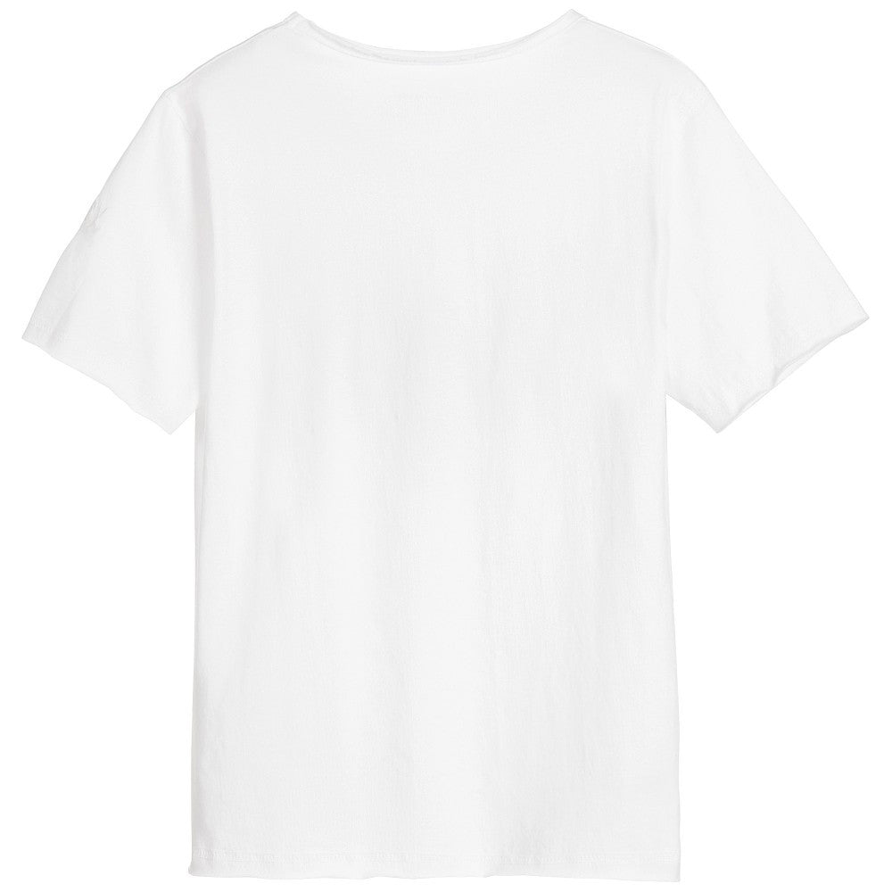 Zadig & Voltaire Boys White 'Rock' T-shirt (Mini-me) Boys T-shirts Zadig & Voltaire [Petit_New_York]