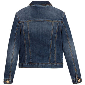 Zadig & Voltaire Girls Classic Denim Jacket (Mini-Me) Girls Jackets & Coats Zadig & Voltaire [Petit_New_York]