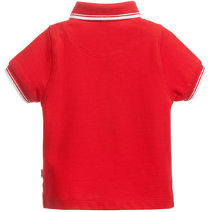 Hugo Boss Boys Red Polo Shirt Boys Polo Shirts Boss Hugo Boss [Petit_New_York]