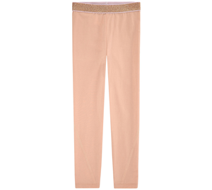 Stella McCartney Girls Peach Leggings Girls Leggings Stella McCartney Kids [Petit_New_York]
