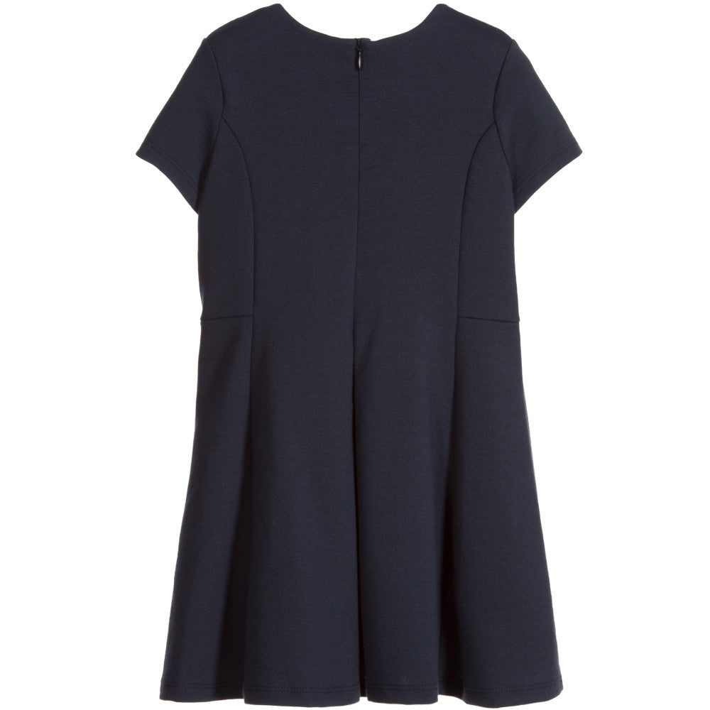 5b8c2e953f1b Chloe Girls Fancy Navy Blue Dress – Petit New York