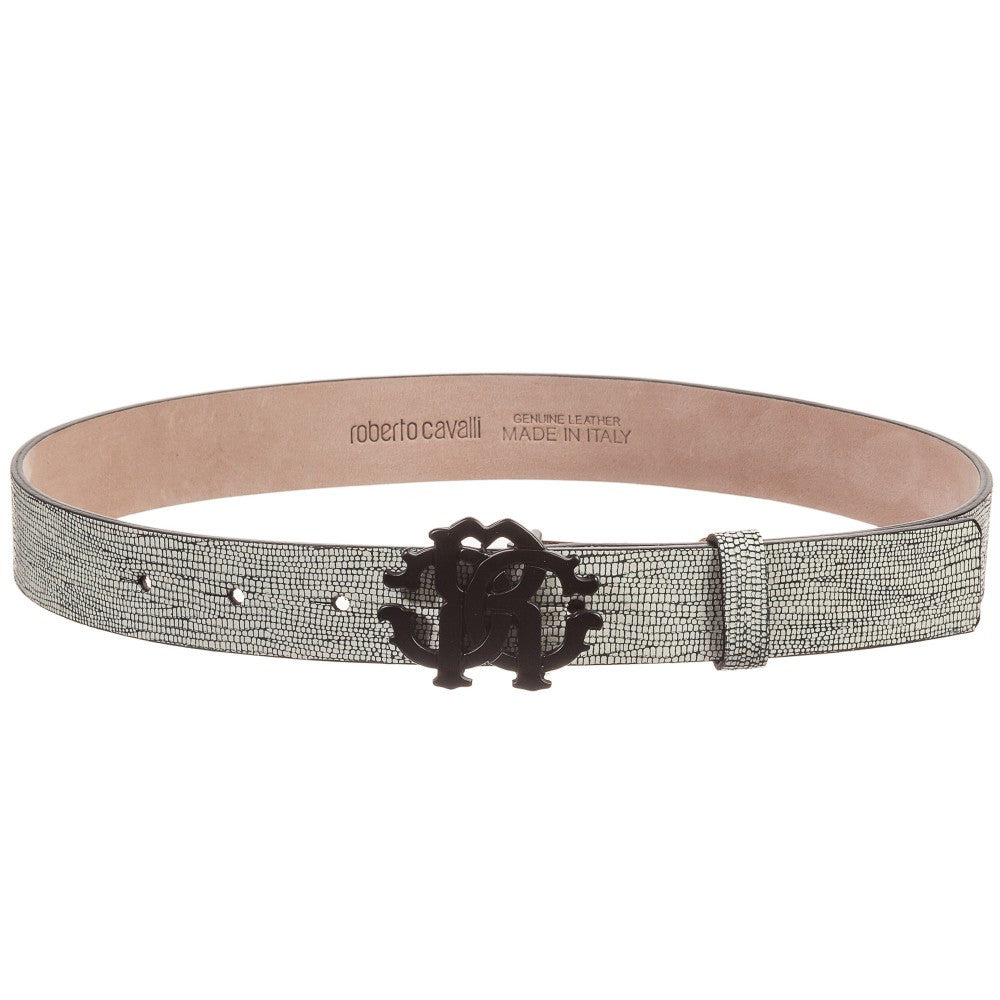 Roberto Cavalli Boys Leather Belt Accessories Roberto Cavalli Junior [Petit_New_York]