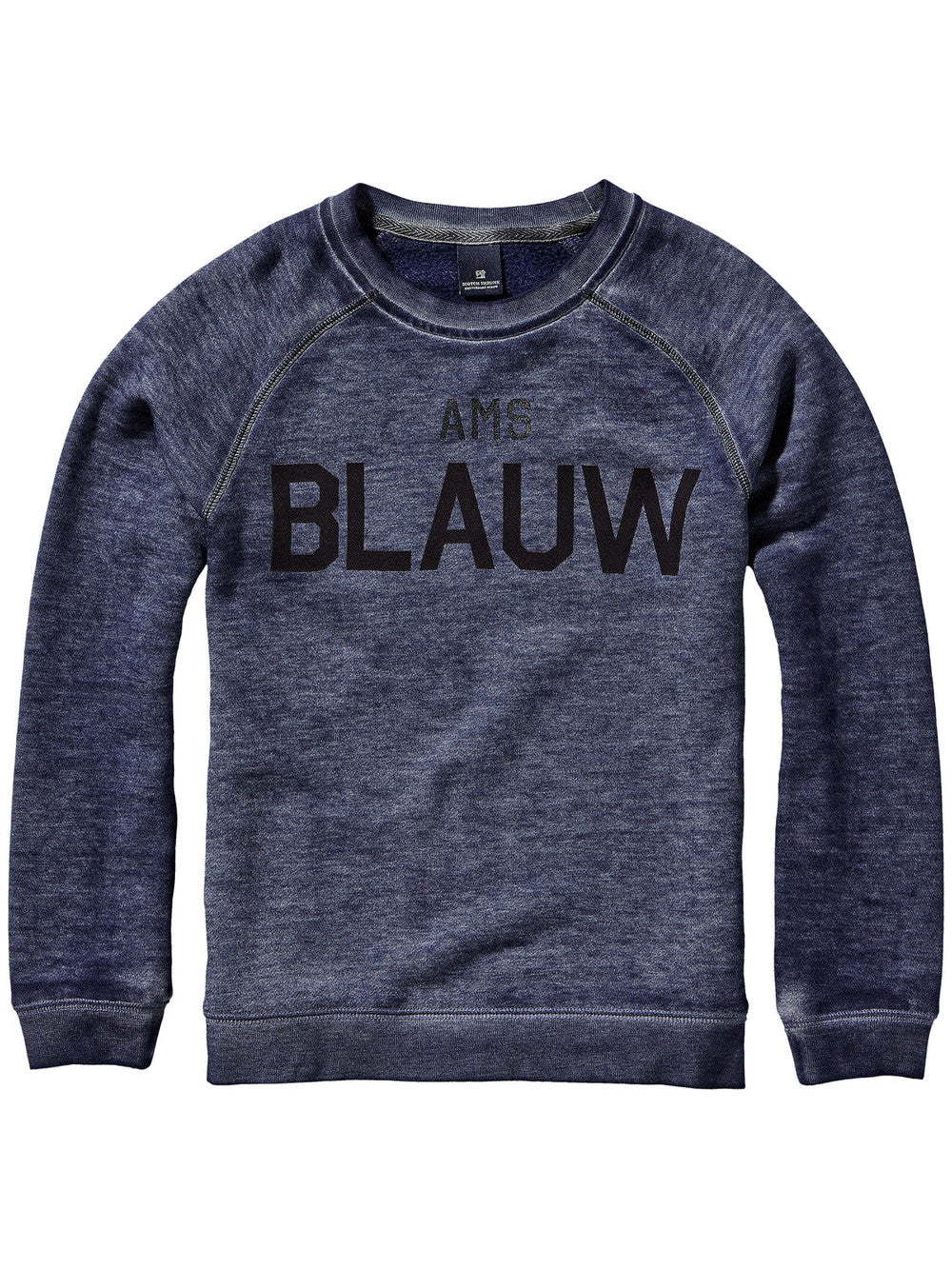 Scotch & Soda Boy 'BLAUW' Sweater Boys Sweaters & Sweatshirts Scotch Shrunk [Petit_New_York]