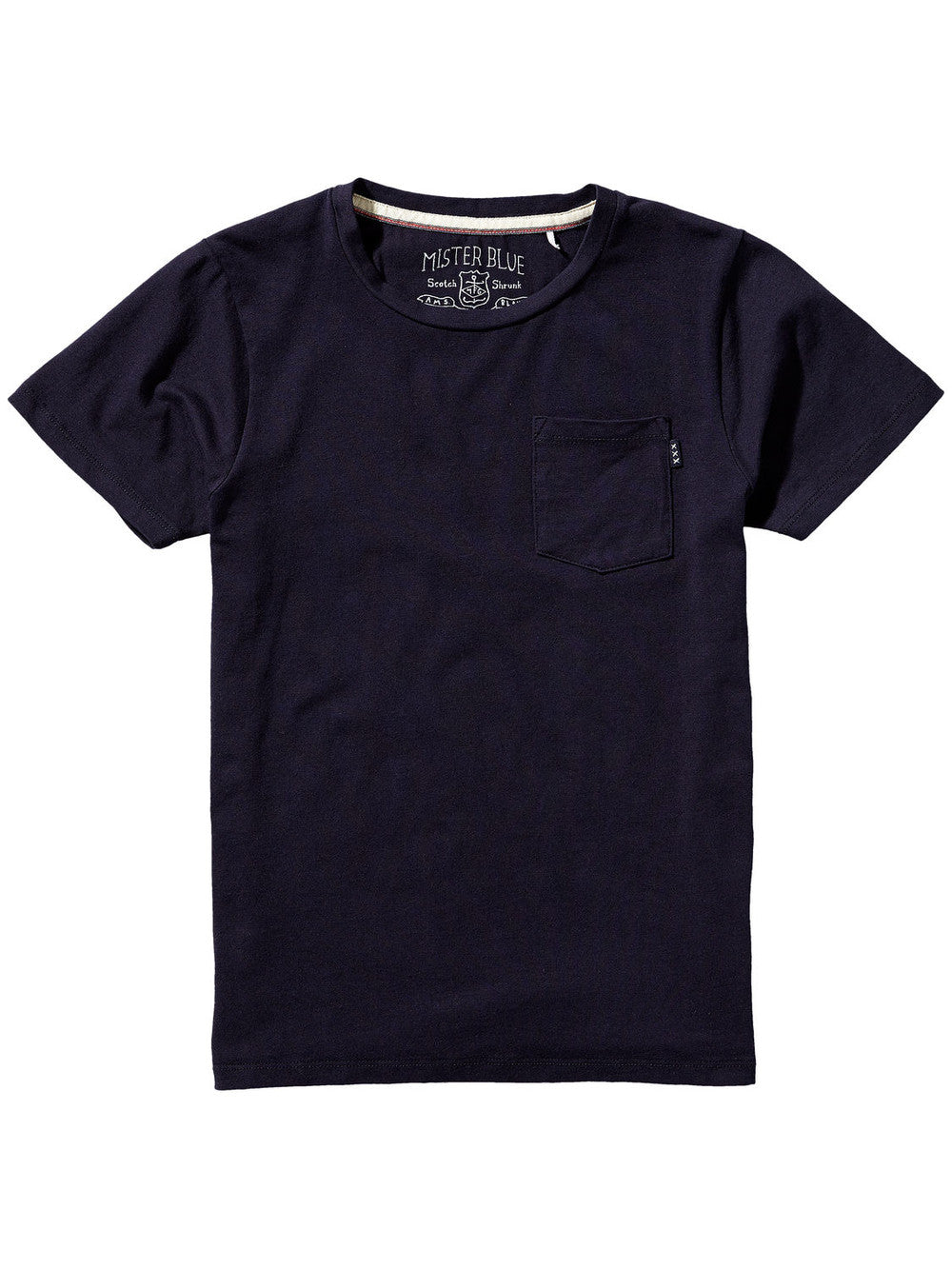 Scotch & Soda Boys Basic T-shirt Boys Shirts Scotch Shrunk [Petit_New_York]