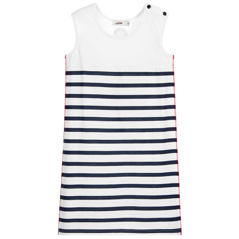 Junior Gaultier Girls Striped Dress Girls Dresses Junior Gaultier [Petit_New_York]