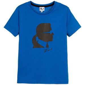 Karl Lagerfeld Boys Karl 'Kameo' T-Shirt (Mini-Me) Boys T-shirts Karl Lagerfeld Kids [Petit_New_York]