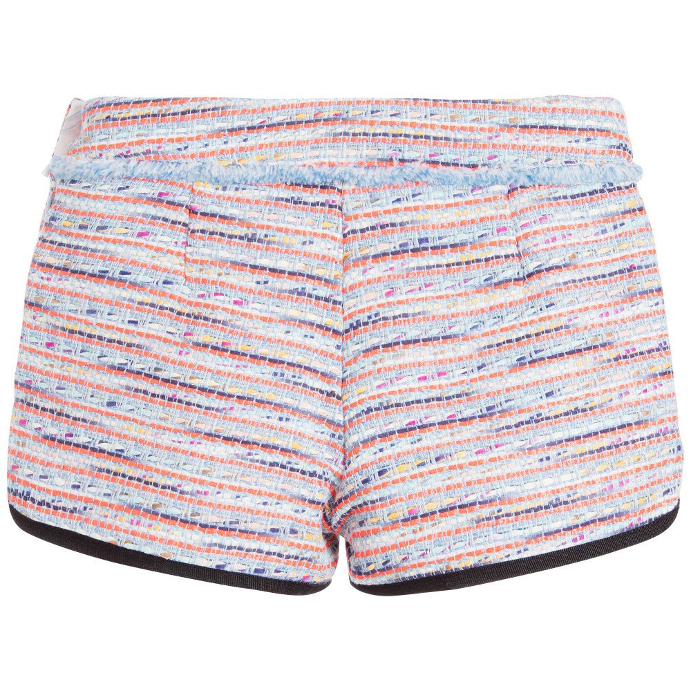 Karl Lagerfeld Girls Colorful Tweed Shorts Girls Shorts Karl Lagerfeld Kids [Petit_New_York]