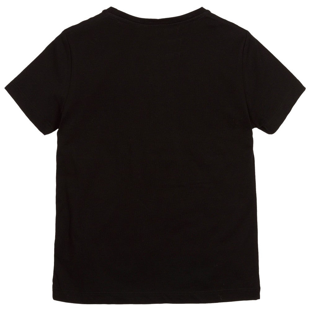 Karl Lagerfeld Boys Black 'Karl Kids' T-Shirt Boys T-shirts Karl Lagerfeld Kids [Petit_New_York]