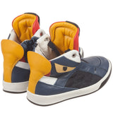 Fendi Boys 'Monster' High-Top Sneakers Boys Shoes Fendi [Petit_New_York]