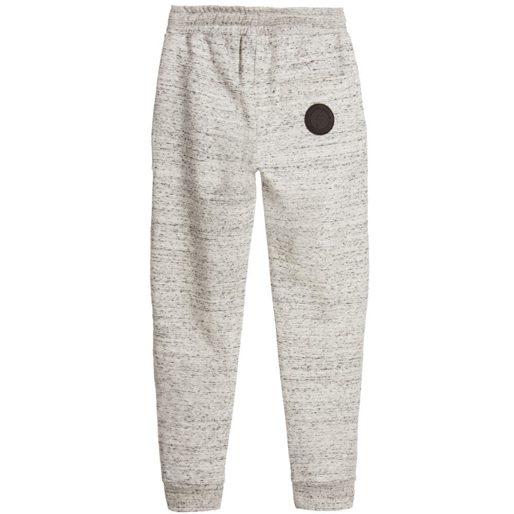 Little Eleven Paris Boys Grey Sweat Pants Boys Pants Little Eleven Paris [Petit_New_York]