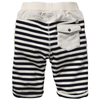 Scotch & Soda Boys Half-Striped Sweatshorts Boys Shorts Scotch Shrunk [Petit_New_York]