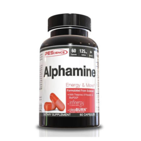 Alphamine Capsules by PEScience | Weight Loss