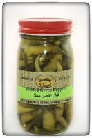 Pickled Green chilli Peppers