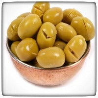Tukebri Green Cracked Olives