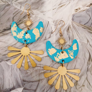 Sassi Sunni Earrings in Turquoise