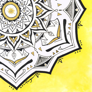 "MadMay Series: Mandala 10: ""Fun"""