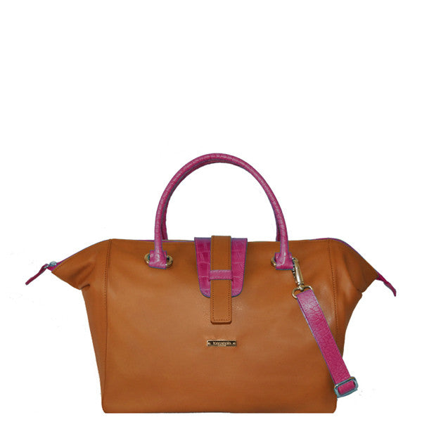 Milano Travel Bag (Fuxia)