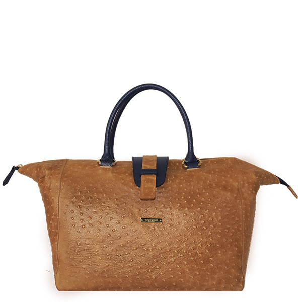 Toscannia Handmade Italian Leather Handbag Travel Bag at Boyajian