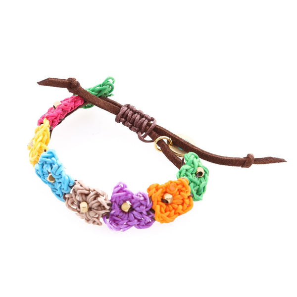 One Love Flower Bracelet (Girls & Teens)