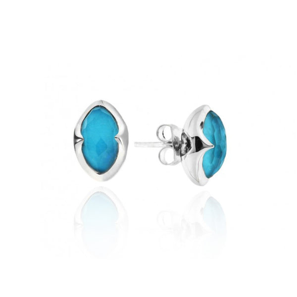 missoma sterling silver stud earrings boyajian jewelry turquoise