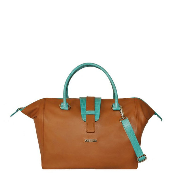 Milano Travel Bag (Turquoise)