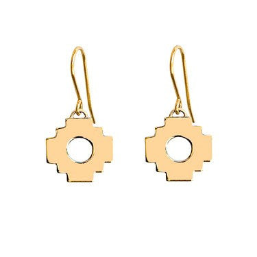 Chakana Cross Earrings