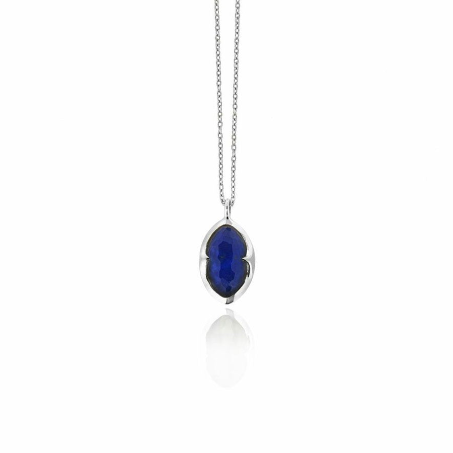 missoma sterling silver necklace at boyajian jewelry lapis lazuli
