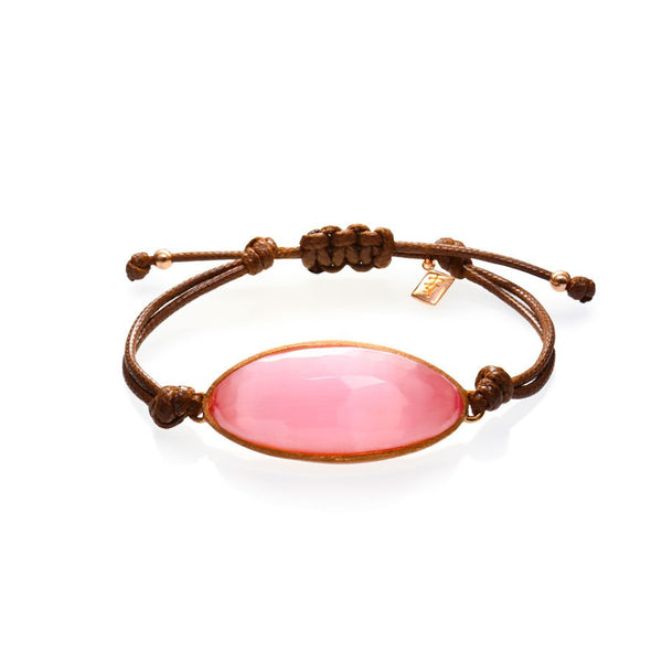 ONA CHAN Jewelry at Boyajian Trend Gallery Pink Cat's Eye Stone