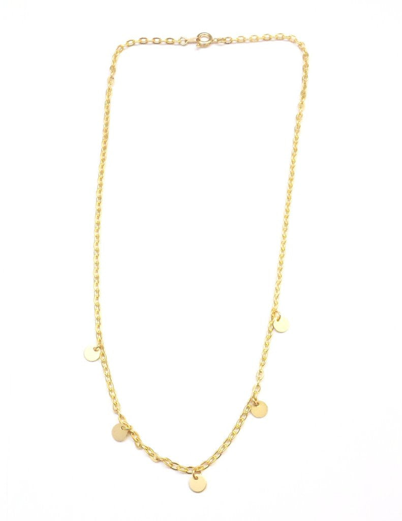 Simple Gold Chain Necklace
