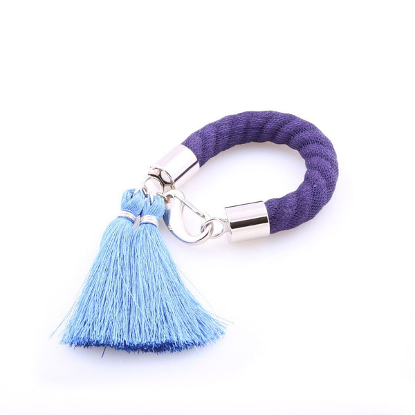 Silk Tassel Bracelets (Various Colors)