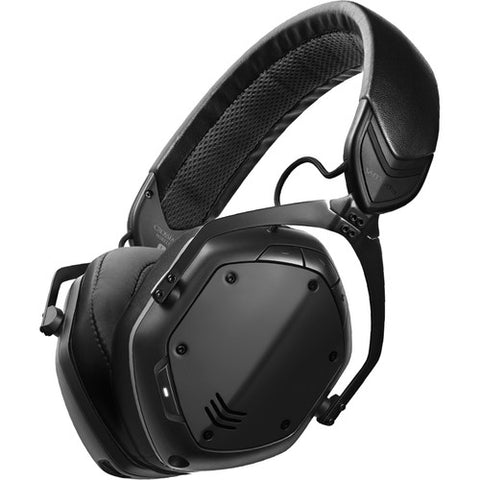 V-MODA Crossfade 2 Wireless Over-Ear Headphones - Matte Black Metal