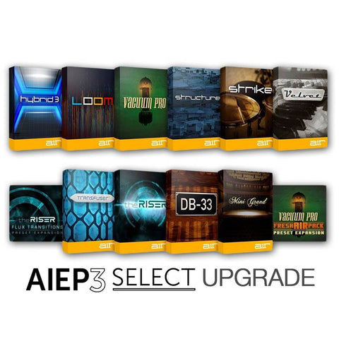 Air Music Tech AIEP 3 SELECT UPGRADE