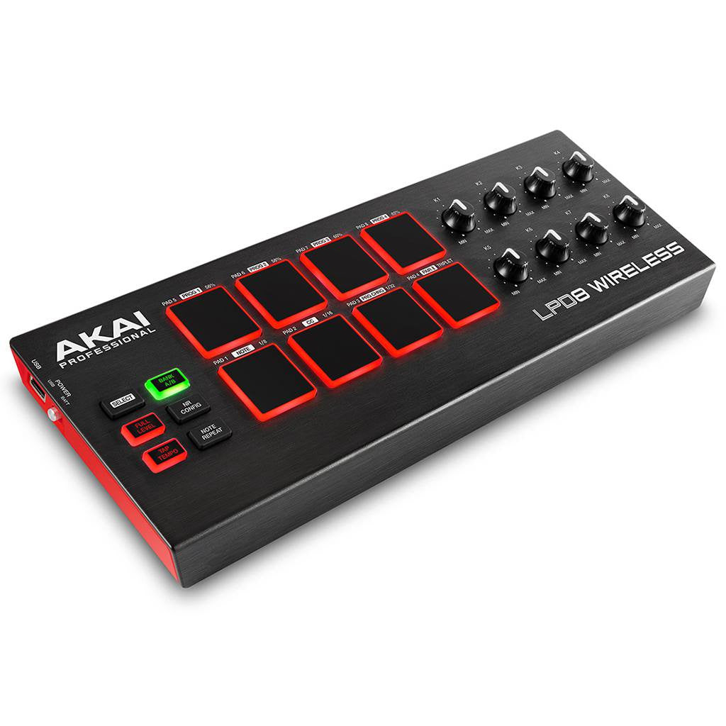 Akai Professional LPD8 Wireless Pad Controller