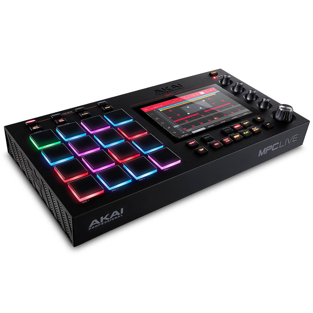 Akai Professional MPC Live Standalone Sampler and Sequencer