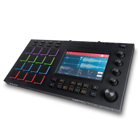 "Akai MPC Touch Music Production Station with 7"" Multi-Color Touchscreen"