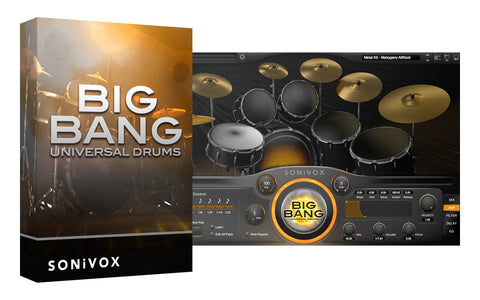 Sonivox Big Bang Universal Drums Virtual Instrument Software