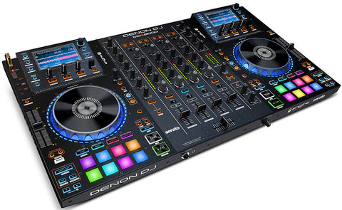 Denon DJ MCX8000 Standalone DJ Player and Serato 4-Channel DJ Controller