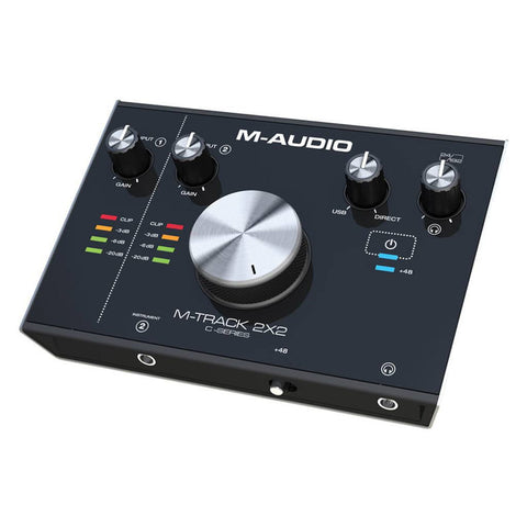M-Audio M-Track 2X2 2-IN/2-OUT 24/192 USB Audio Interface