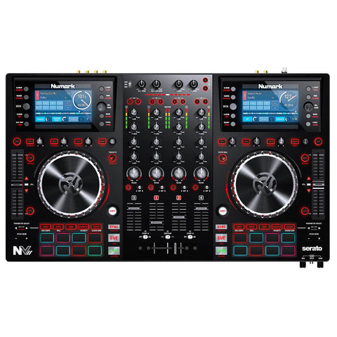 Numark NVII DJ Controller for Serato DJ with Intelligent Dual-Display Screens