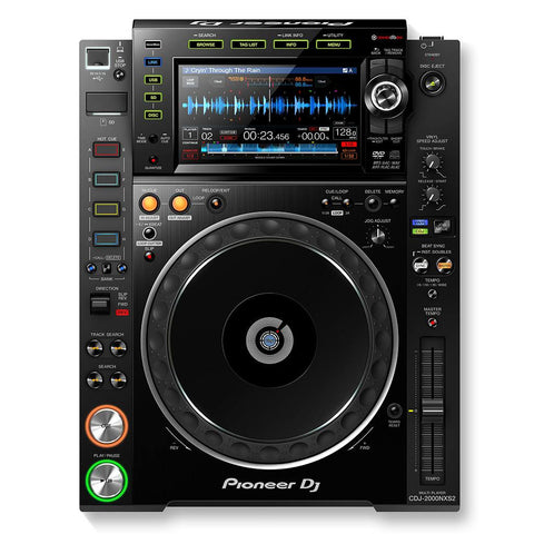 Pioneer DJ CDJ-2000NXS2 Professional Multi-Player with Recordbox - Black