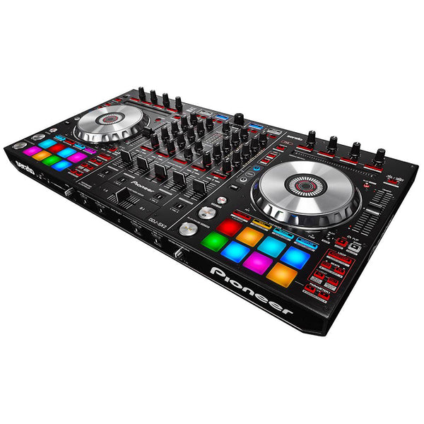Pioneer DJ DDJ-SX2 4-Channel DJ Controller with Denon DJ HP600 DJ Headphones