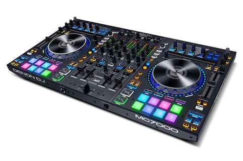 Denon DJ MC7000 4-Channel DJ Controller with Serato DJ Software