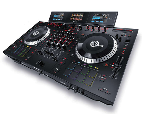 Numark NS7III 4-Channel Motorized DJ Controller & Mixer with Dual Screens